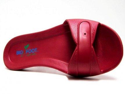 Impresion tampografica Gto sobre sandalias